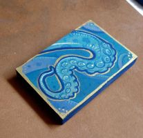 Teeny Tentacle painting by missmonster
