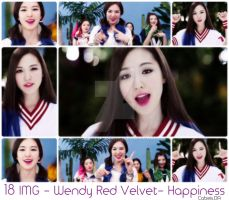 Photopack #29: Wendy Red Velvet- Happiness MV by Catbeis