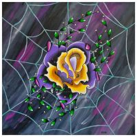 Spider Flower 2 by EVPresteign