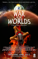 War of the Worlds - A Live Theatrical Radio Drama by thedarkcloak