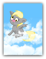 Baby Derpy Collaboration by ravenaudron