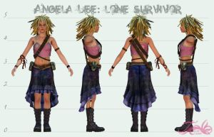 Angela Lee - Character Sheet by AsraiLight