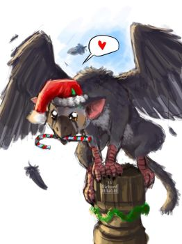 Holiday Trico!  by Pen-Mark