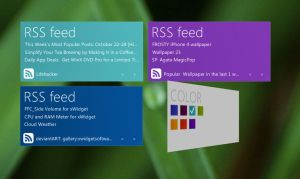 Windows8 Metro RSS by xwidgetsoft