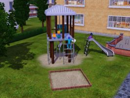 Sims 3 - I caught butterflies in the playground 1 by Magic-Kristina-KW