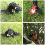 Detailed Posable Toothless Night Fury Plush by shibblesgiggles01