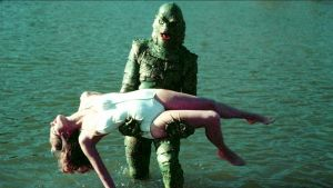 Creature From The Black Lagoon and Date by vicsixx42