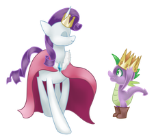 Commission- I'll Be Your King by Nalenthi