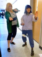 U-Con 2014- Tsunade and Hinata by BloodKaika