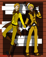 Two Suits by 2alexx2