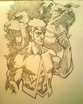 ANIMAL MAN by JordanMichaelJohnson