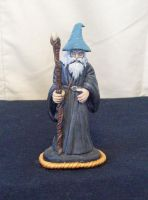 Gandalf the Grey by superclayartist