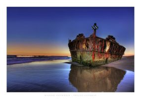 Maheno Shipwreck by philipp-eos