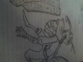 Sly Cooper Thieves in Time Uncolored by Kickyobutt11
