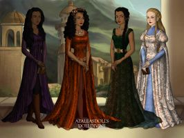 Arianne and the Sand Snakes by SingerofIceandFire