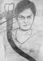 Daryl Dixon    The Walking Dead by cahrolzit