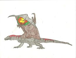 Winged Dragon Of Komodo by Tyrannosaurs-rex92
