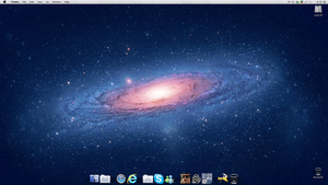 Mac OS X v5 by LazyLaza