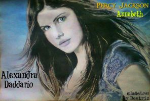 Annabeth Chase - Percy Jackson - Drawing by BeatrizLoveMyJesus