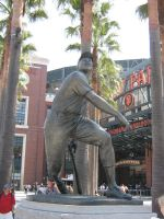 Willie Mays Statue by kkworker