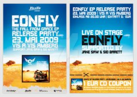 Release Party Flyer by DOMDESIGN