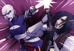 Kahan vs Ventress by rayn44