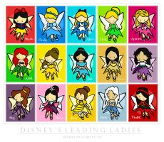 Disney Faeries by cippow25