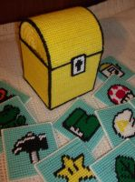 Super Mario 3 Coaster Set by ZombieBunnySlaya
