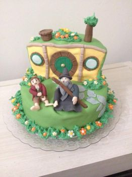 The Hobbit Cake by bruhway