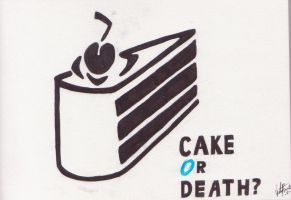 Cake or Death? by SuperVerity64