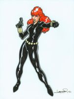 Black Widow by aaronlopresti