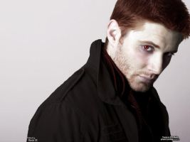 Jensen Ackles as a Vampire by Twilighter27