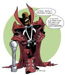 Spawn is a happy fellow by ATLbladerunner
