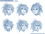 Expressions - Mikka by RoninDude