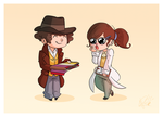 Osgood and 4 by Blizarro