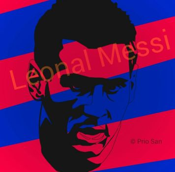 leonal messi by 123prio