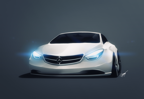 Mercedes-Benz 2012 concept by AS001