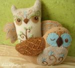 Two Owls by merwing