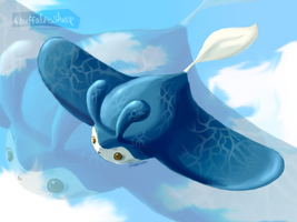 Advent Request #5: Mantine by FluffableSheep