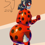 Miraculous Babybug (Butt Month Edition) by SlimeyJenkins