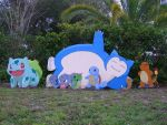 Life Size Snorlax is done by Minatek616
