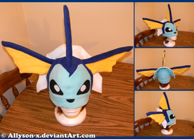 Vaporeon Hat by Allyson-x