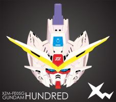 XZM-FE05G Gundam Hundred Head (Detailing) by ifunxtreme