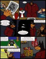 Comic Commission: Chow Hound The Untold Story 8 by CaseyLJones