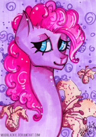 Flower Series: Pinkie Pie by MadBlackie