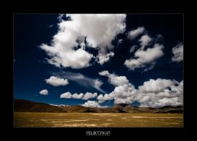 Tibetan High Plateau III by FelixTo