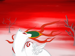 First Drawing Of Amaterasu by AmaterasuOmikami80