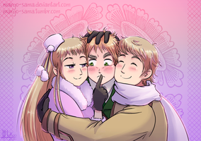 [APH][RusEng] Russian squeeze by Margo-sama