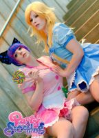 Waitress Panty and Stocking by PookieBearCosplay