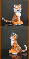 Sculpey - Tiger by capnkupo